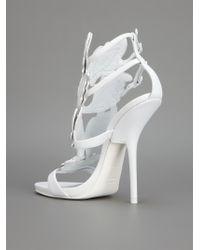 ddfafe2a7d8 Giuseppe Zanotti  Cruel Summer  Sandals in White - Lyst