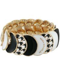 Vera Bradley | Black Medallion Stretch Bracelet | Lyst