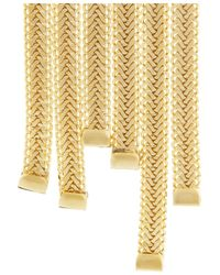 Rosantica - Metallic Nefertiti Gold-Dipped Necklace - Lyst