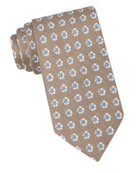 Ted Baker | Natural Floral Silk-Blend Tie for Men | Lyst