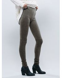 Free People - Green Intimately Womens Soft Legging - Lyst