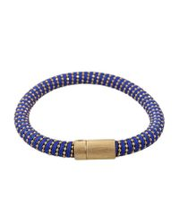Carolina Bucci | Metallic Cobalt Twister Band Bracelet | Lyst