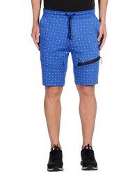 Nike - Blue Bermuda Shorts for Men - Lyst