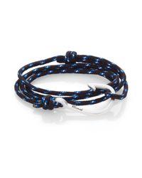 Miansai - Black Hook Rope Wrap Bracelet - Lyst