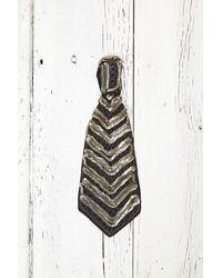 Free People - Metallic Vintage Sequin Tie Necklace - Lyst
