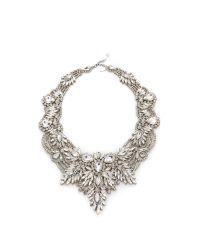 Jenny Packham - Metallic Gazelle Crystal Necklace - Lyst