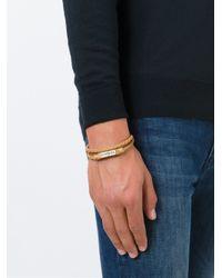 DIESEL | Natural Braided Bracelet for Men | Lyst