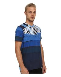 Staple | Blue Neon Tee for Men | Lyst
