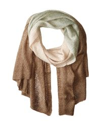 Michael Stars - Brown Softest Ombre Wrap - Lyst