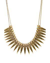 Vanessa Mooney | The Phoenix Necklace in Metallic Gold | Lyst
