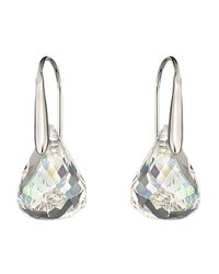 Swarovski | Metallic Lunar Crystal Earrings | Lyst