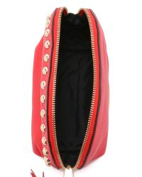 Rebecca Minkoff | Red Dome Pouch - Cherry | Lyst