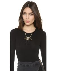 Fiona Paxton - Black Georgia Necklace - Lyst