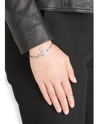 Vivienne Westwood | Metallic Thalia Bas Relief Orb Bracelet | Lyst