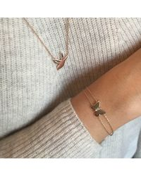 Alexa Leigh | Metallic Butterfly And Sparrow Necklace | Lyst