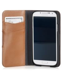 Polo Ralph Lauren | Brown Burnished Leather Samsung Case for Men | Lyst