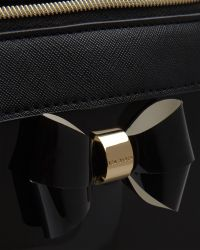 Ted Baker - Black Layered Bow Wash Bag - Lyst