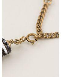 Isabel Marant - Black Fuji Necklace - Lyst