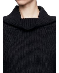 Toga - Blue Rib Knit Oversize Sweater - Lyst