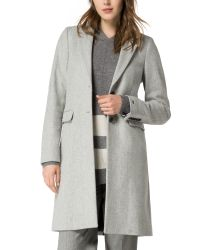 Tommy Hilfiger | Gray Thea Coat | Lyst