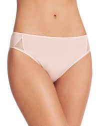 Hanro | Pink Piemont High-cut Brief | Lyst
