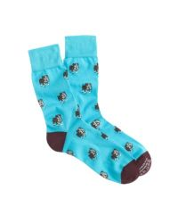 J.Crew - Blue Corgi Lightweight Pattern Socks for Men - Lyst