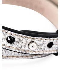BVLGARI | Metallic Enamel Snake Head Bracelet | Lyst