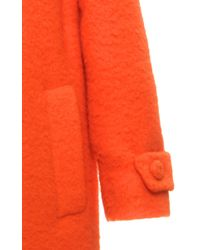 Moschino - Orange Dry Clean Only Long Jacket - Lyst