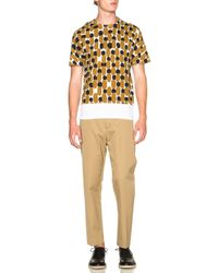 Marni - Blue Printed Regular Fit Tee - Lyst