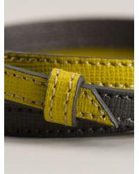Fendi - Yellow Crayons Bracelet - Lyst