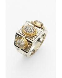 Konstantino - Metallic 'diamond Classics' Diamond Ring - Lyst