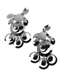 Moschino - Metallic Earrings - Lyst