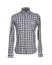 Ermanno Scervino | Gray Shirt for Men | Lyst