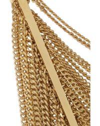 Chloé - Metallic Delfine Goldtone Chain Bracelet - Lyst