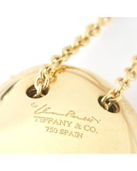 Tiffany & Co. - Multicolor Pre-Owned: 18Ky Elsa Peretti Full Heart Pendant Necklace - Lyst