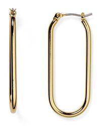 Marc By Marc Jacobs - Metallic Ferus Bubble Hoop Earrings - Lyst