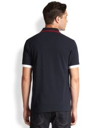 Fred Perry - Blue Usa World Cup Polo for Men - Lyst