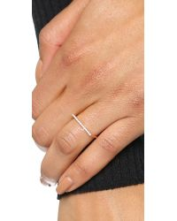 Gabriela Artigas - Pink Pave Flat Axis Ring - Lyst
