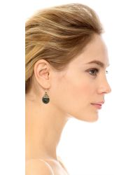Miguel Ases | Ellie Earrings - Green Multi | Lyst