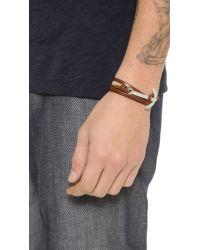 Miansai | Brown Modern Anchor Wrap Bracelet for Men | Lyst