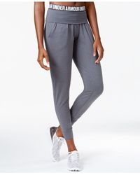 Under Armour | Gray Jogger Pants | Lyst
