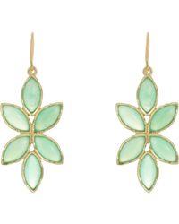 Irene Neuwirth - Multicolor Floral Drop Earrings - Lyst