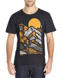 Bench | Black Moutain Graphic Tee for Men | Lyst