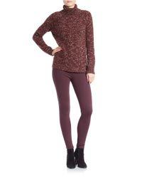 Sanctuary - Red Oversized Turtleneck Sweater - Lyst