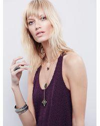 Free People | Purple Fp Beach Womens Bell Jar Tunic | Lyst