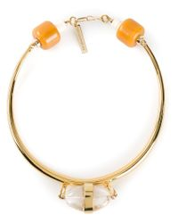 Lizzie Fortunato - Metallic 'The Golden Rule' Necklace - Lyst