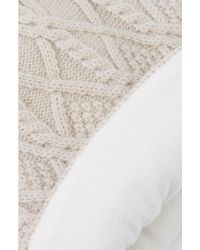 Akira Black Label | White Fleece Lined Hat - Ivory | Lyst