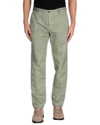 Incotex | Green Casual Pants for Men | Lyst