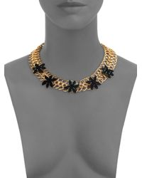 Marc By Marc Jacobs - Metallic Palm Link Choker Necklace for Men - Lyst
