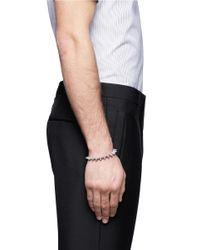 Eddie Borgo - Metallic Small Cone Bracelet for Men - Lyst